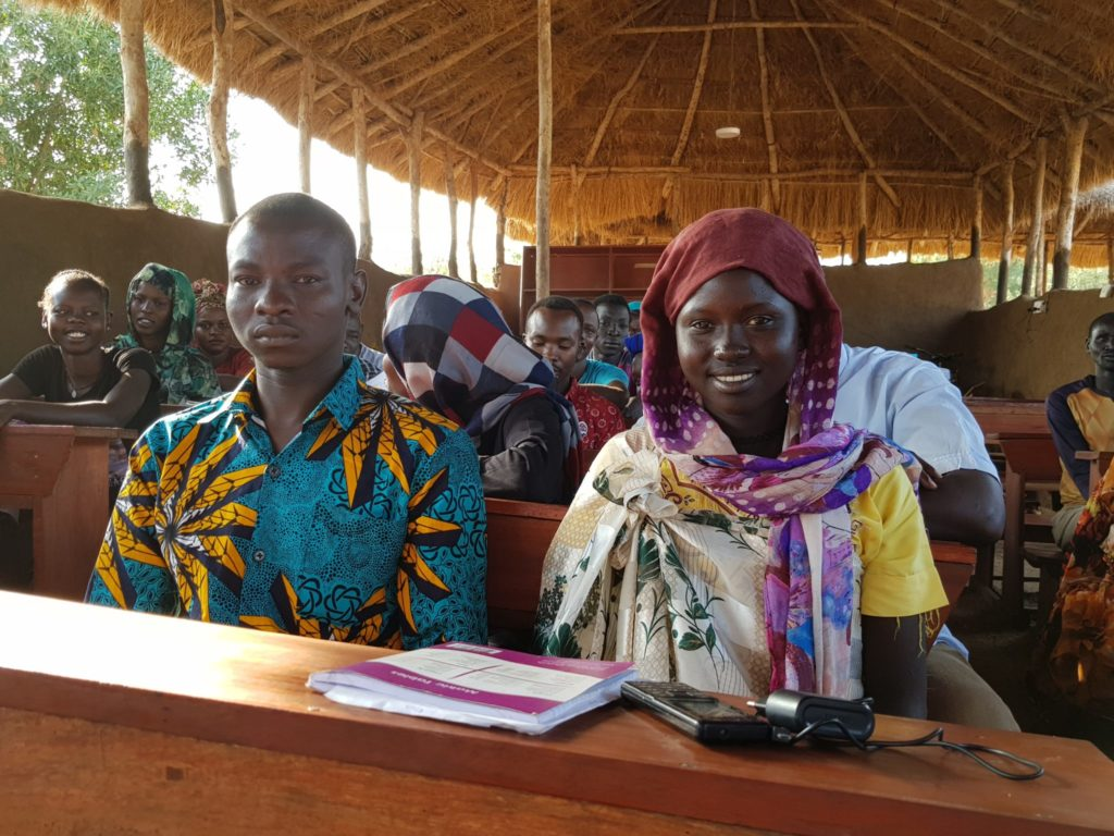 Photo 3 Refugee Students at the JRS Education Unit Maban South Sudan 1024x768
