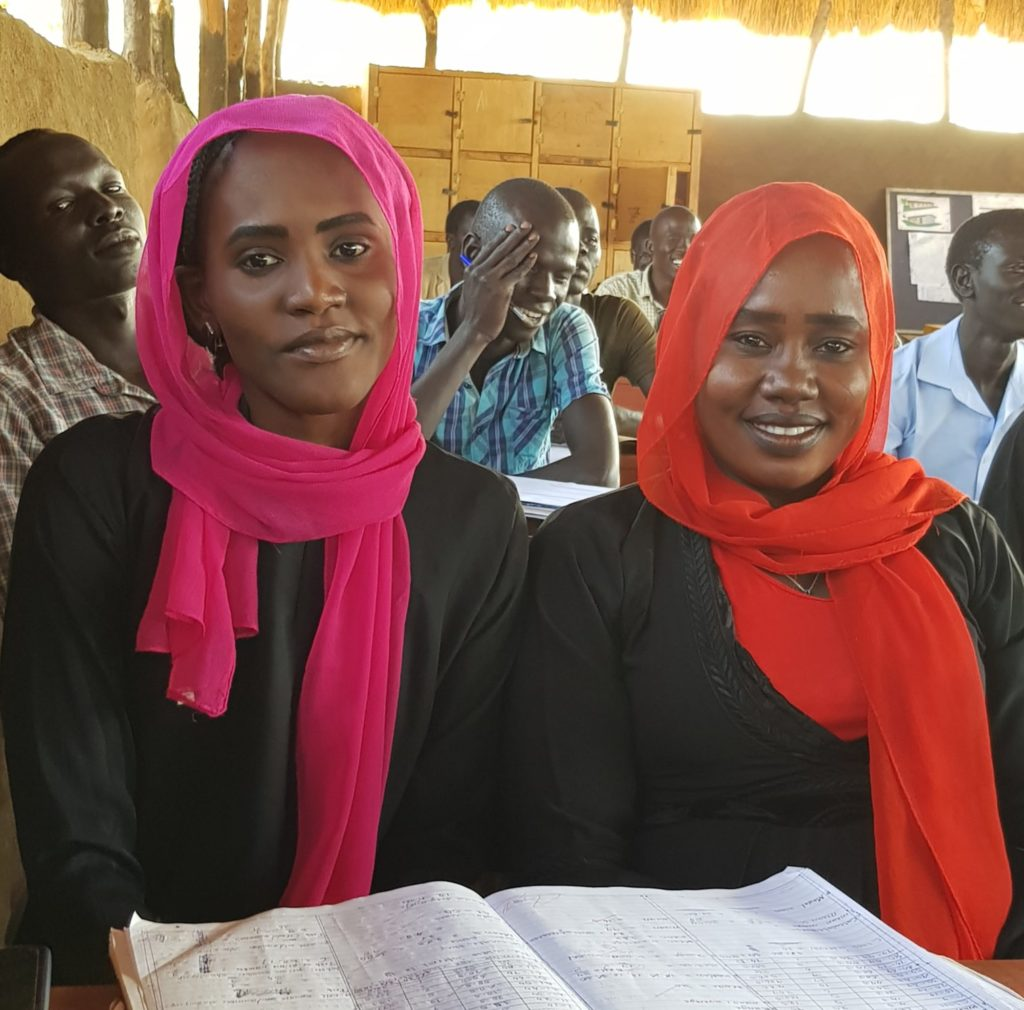 Basamat and Gizma, Student Teacher Trainers JRS Maban Teaching Centre